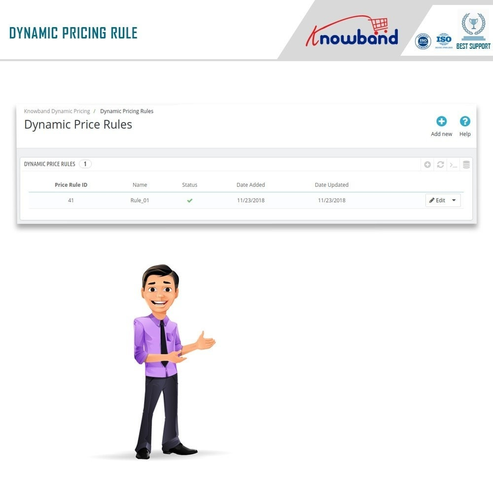 module - Gestão de preços - Knowband - Dynamic Pricing - 5