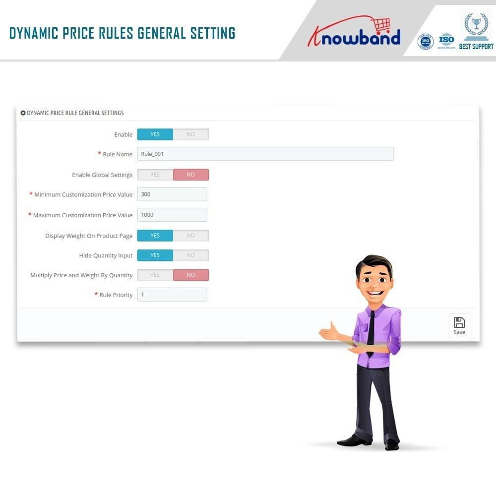 module - Gestão de preços - Knowband - Dynamic Pricing - 6