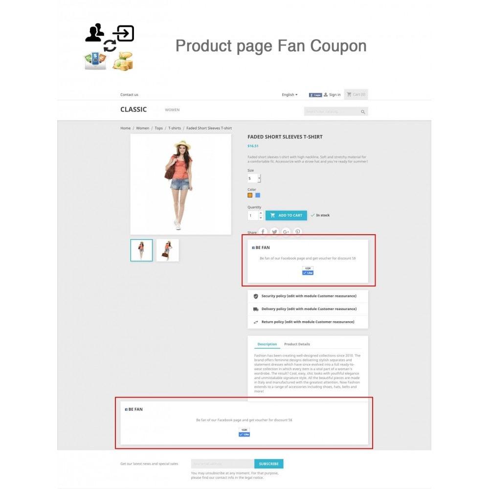 module - Social Login & Connect - Social Connect, Fan Coupon, Registration Coupon - 1