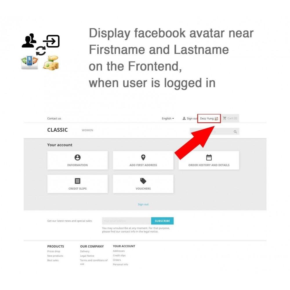 module - Social Login & Connect - Social Connect, Fan Coupon, Registration Coupon - 4