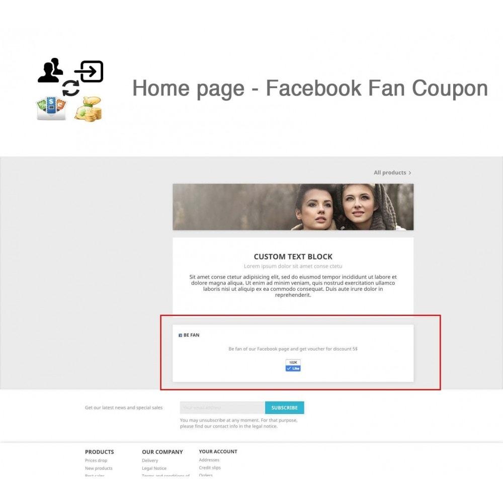 module - Social Login & Connect - Social Connect, Fan Coupon, Registration Coupon - 6