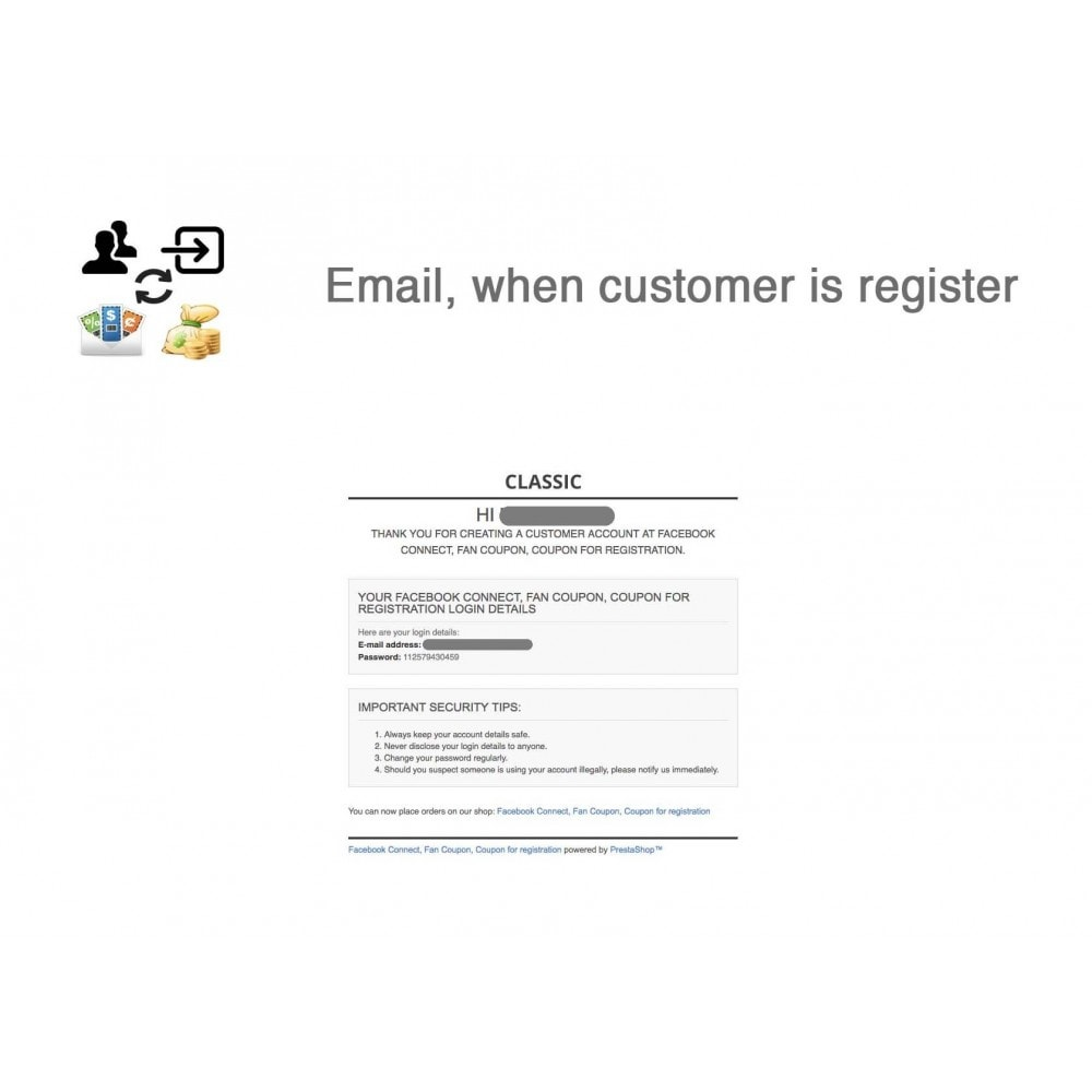 module - Social Login & Connect - Social Connect, Fan Coupon, Registration Coupon - 10