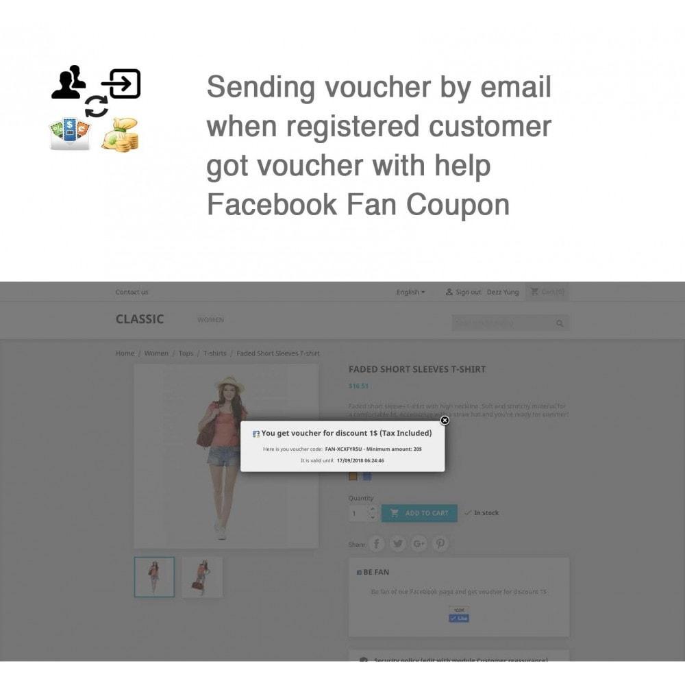 module - Social Login & Connect - Social Connect, Fan Coupon, Registration Coupon - 12