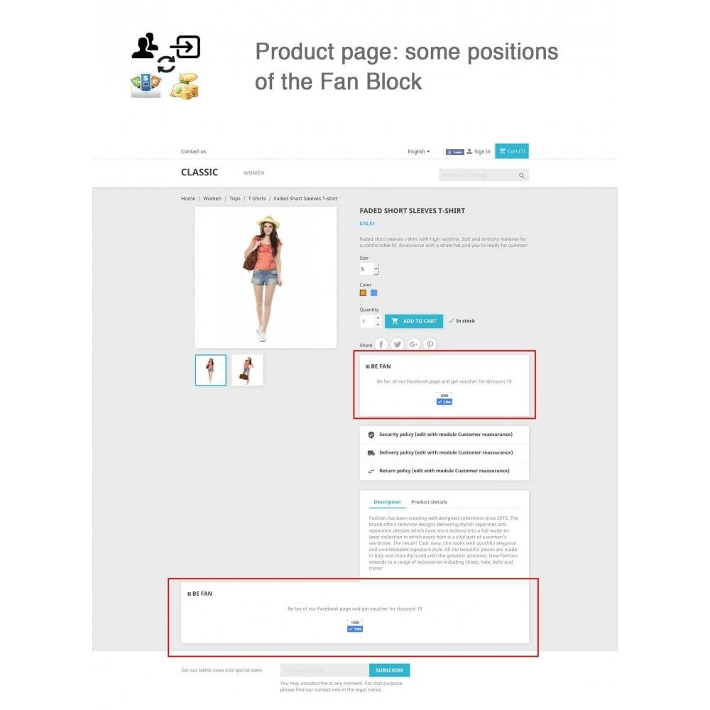 module - Social Login & Connect - Social Connect, Fan Coupon, Registration Coupon - 15