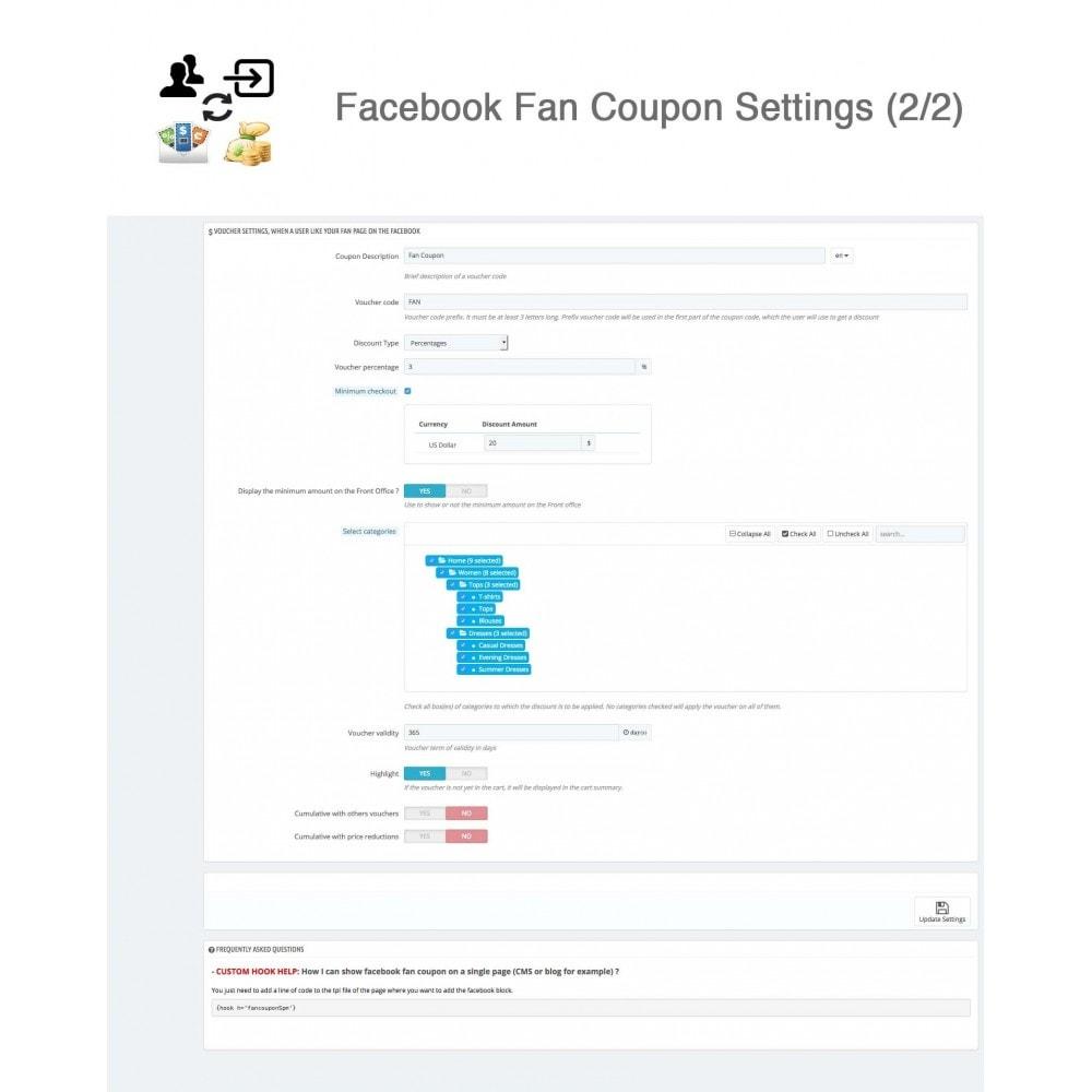 module - Social Login & Connect - Social Connect, Fan Coupon, Registration Coupon - 21