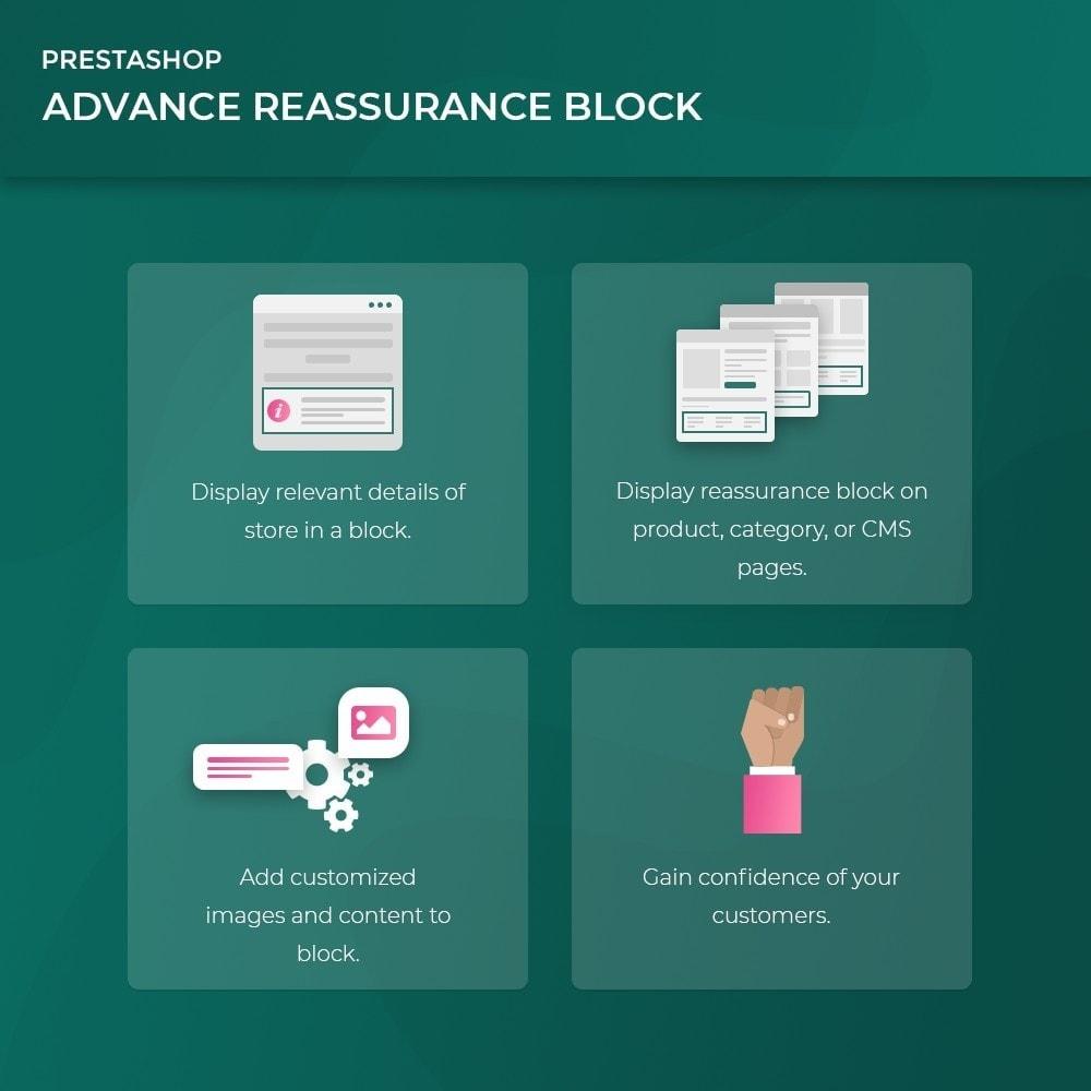 module - Blocchi, Schede & Banner - Advance Reassurance Block - 2