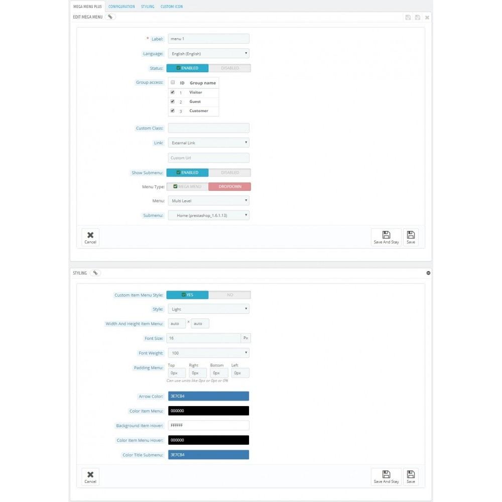 module - Menu - Responsive Mega Menu (Horizontal+Dropdown+Swipe+Sticky) - 13