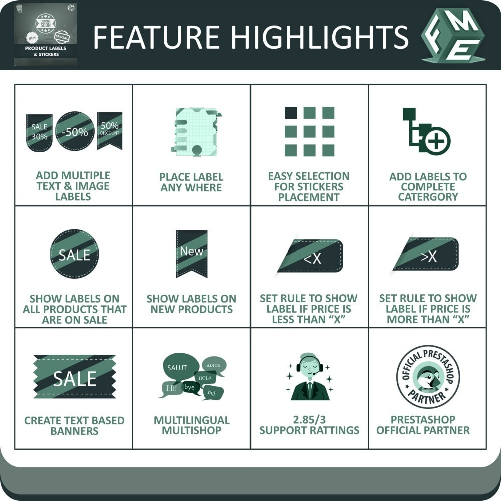 module - Badges & Logos - Product Labels and Stickers - 2