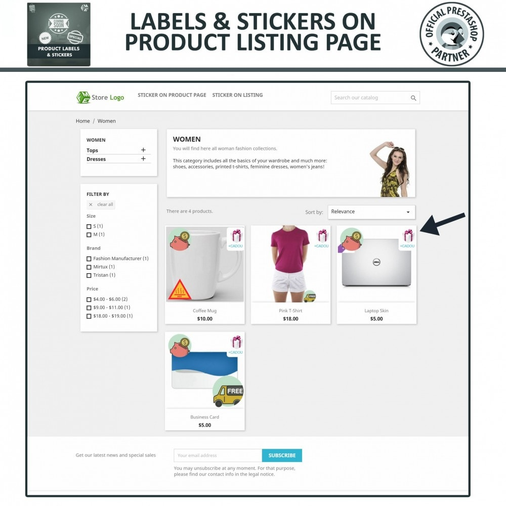 module - Badges & Logos - Product Labels and Stickers - 3