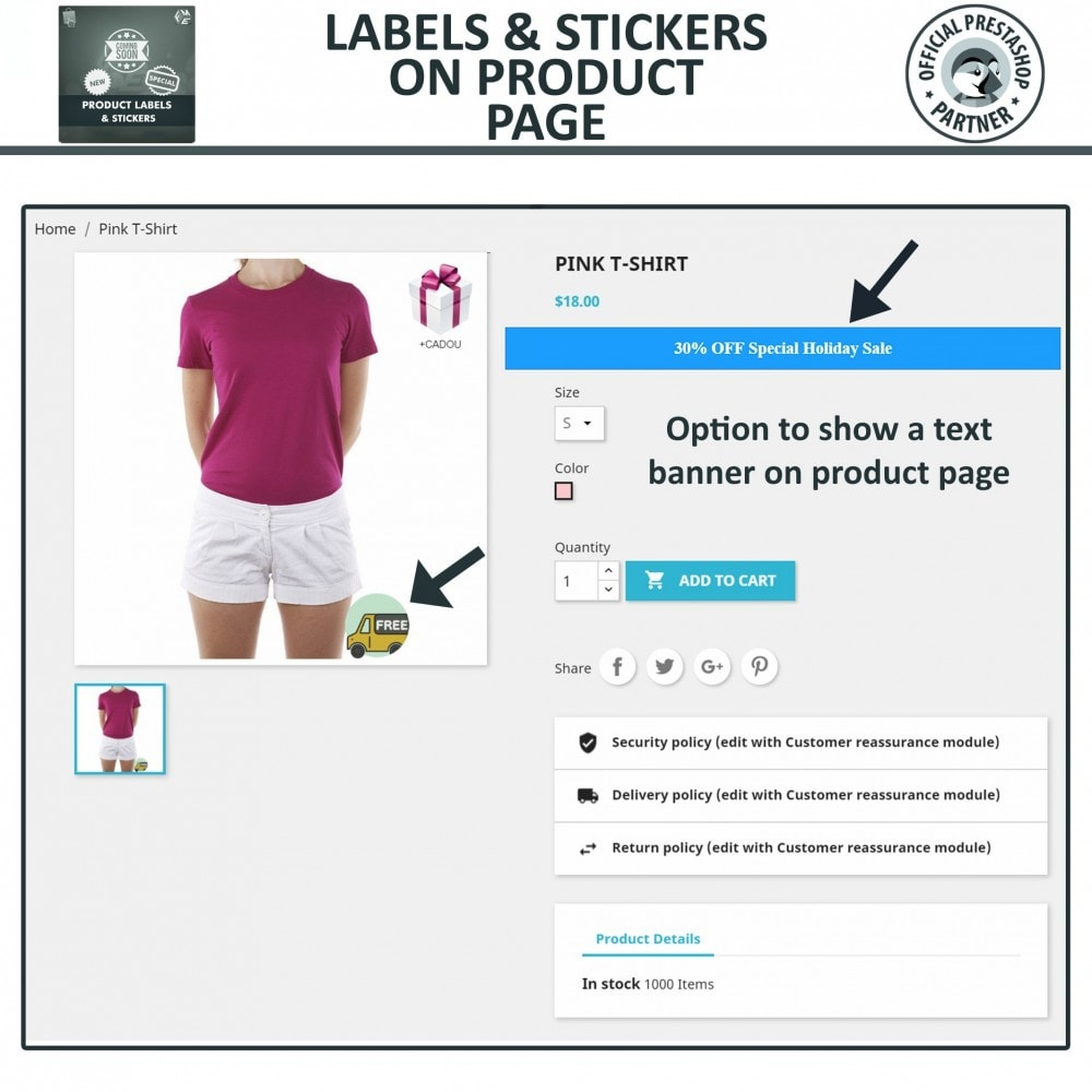 module - Badges & Logos - Product Labels and Stickers - 5