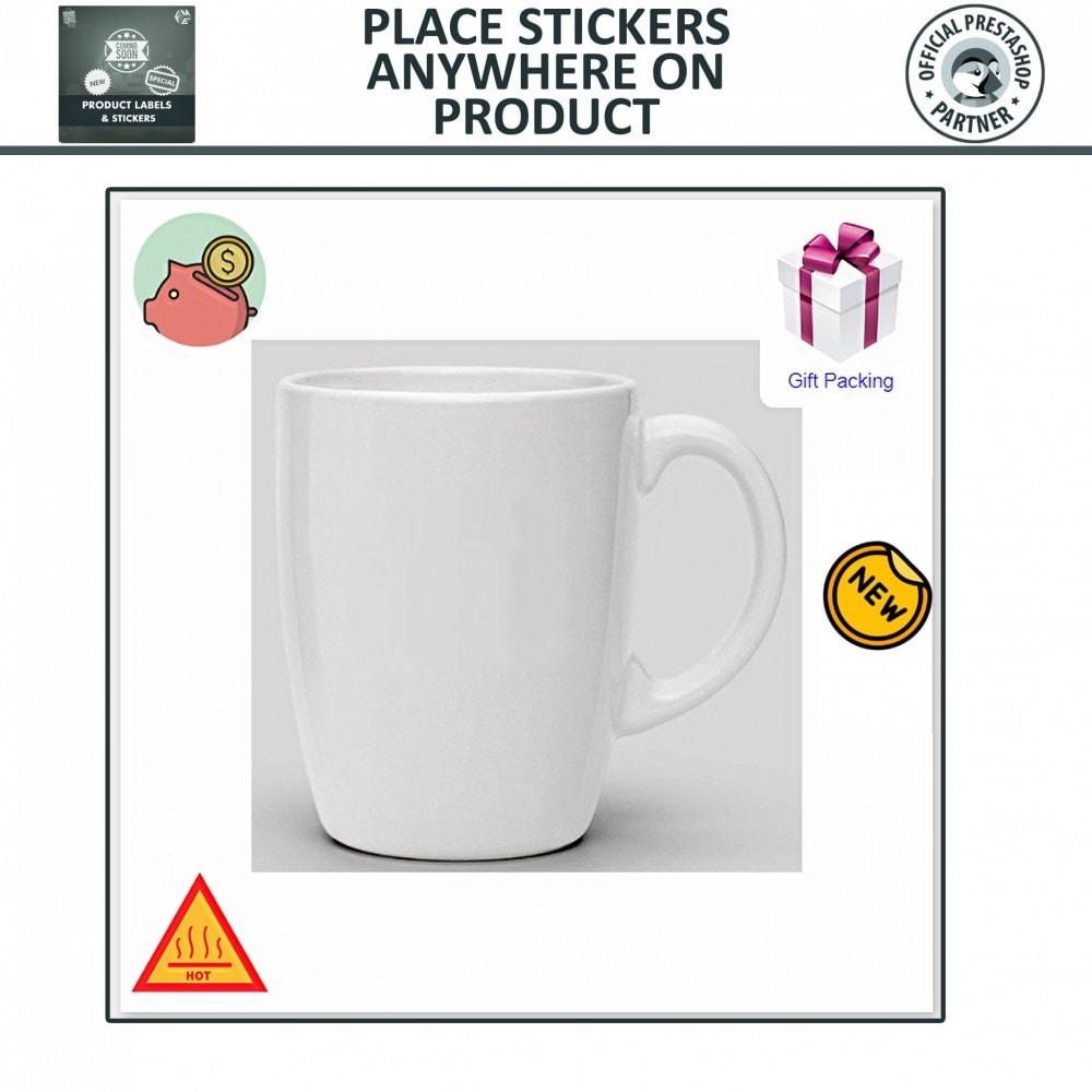 module - Badges & Logos - Product Labels and Stickers - 6