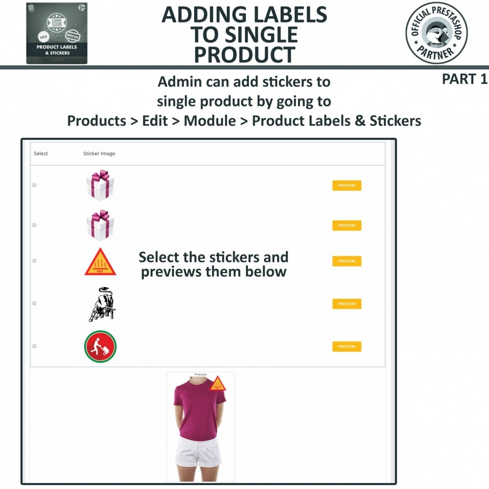 module - Badges & Logos - Product Labels and Stickers - 18
