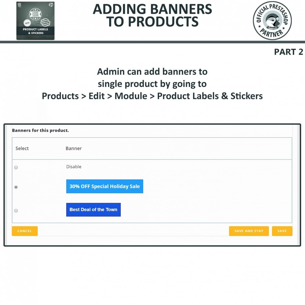 module - Badges & Logos - Product Labels and Stickers - 19