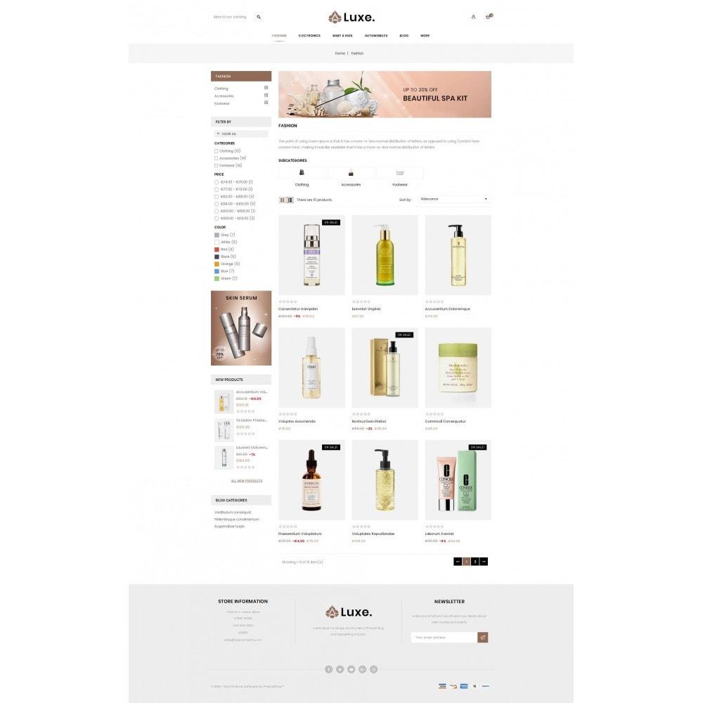 theme - Здоровье и красота - Luxe Spa Store - 3