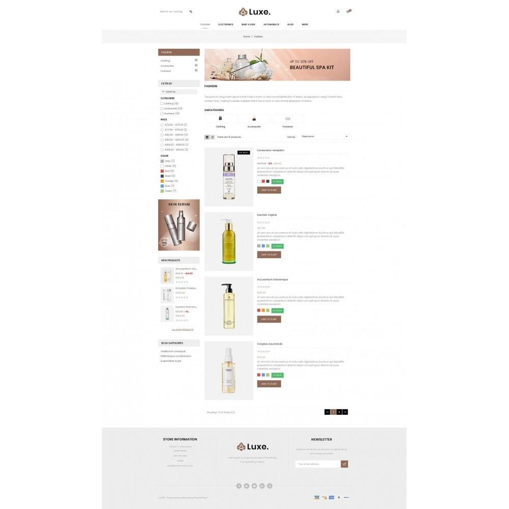 theme - Здоровье и красота - Luxe Spa Store - 4