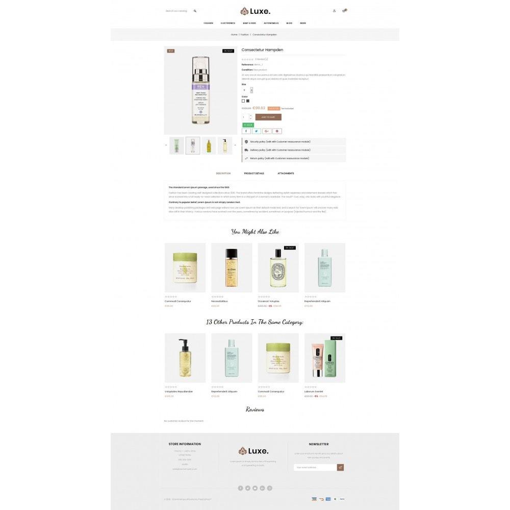 theme - Здоровье и красота - Luxe Spa Store - 5