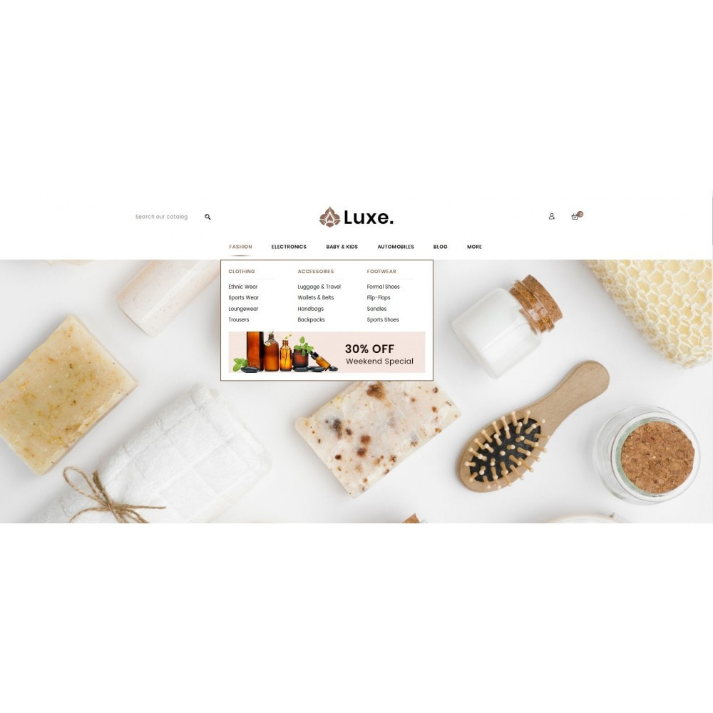 theme - Здоровье и красота - Luxe Spa Store - 6