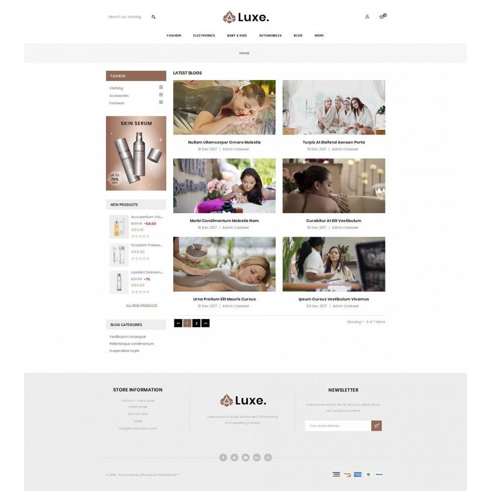theme - Здоровье и красота - Luxe Spa Store - 9