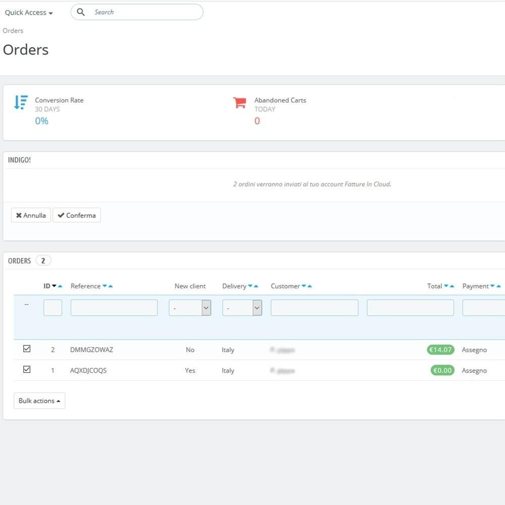 module - Zarządzanie zamówieniami - Indigo - 2