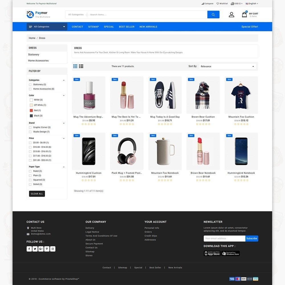 theme - Elektronik & High Tech - PayMore - Mega Ecommerce Store - 6