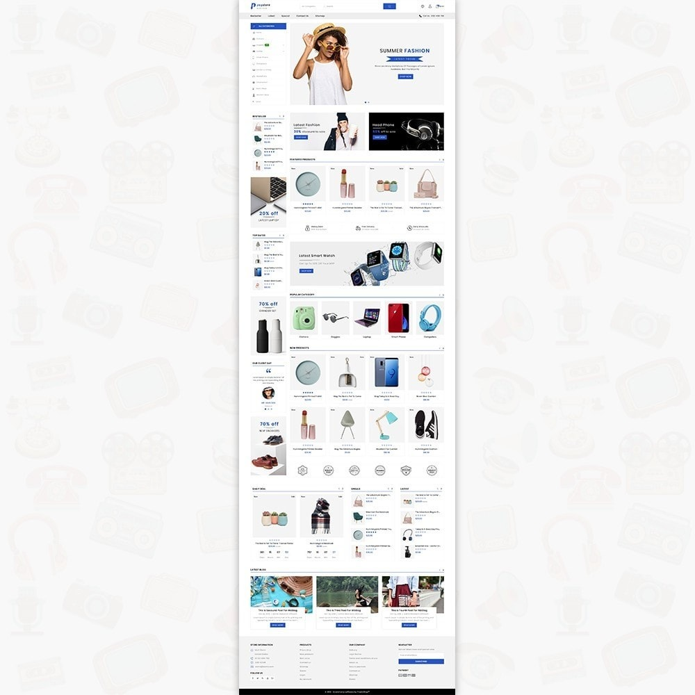 theme - Electronics & Computers - PayStore - The Mega Ecommerce Store - 2