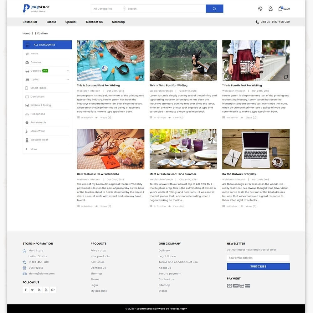theme - Electronics & Computers - PayStore - The Mega Ecommerce Store - 5