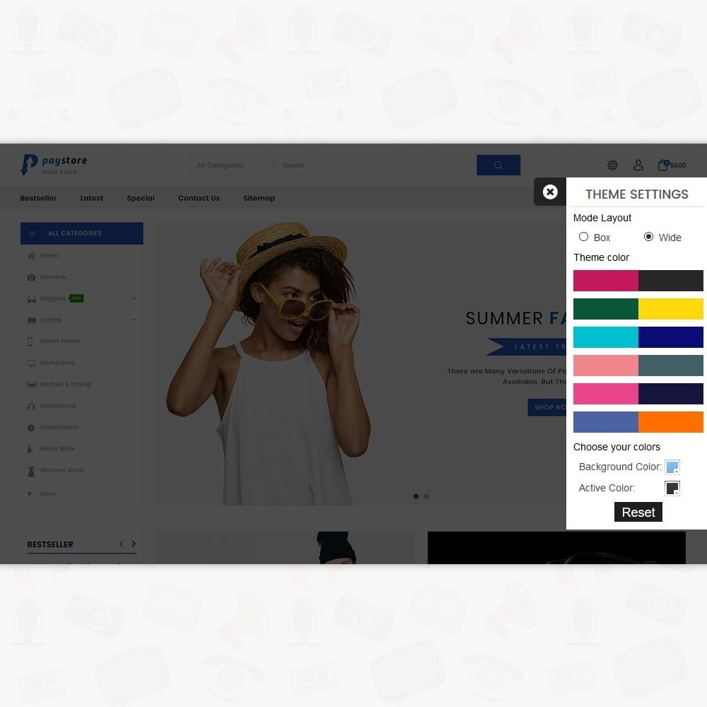 theme - Electronics & Computers - PayStore - The Mega Ecommerce Store - 8