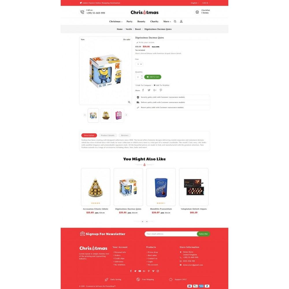 theme - Regalos, Flores y Celebraciones - Christmas Gift - 5