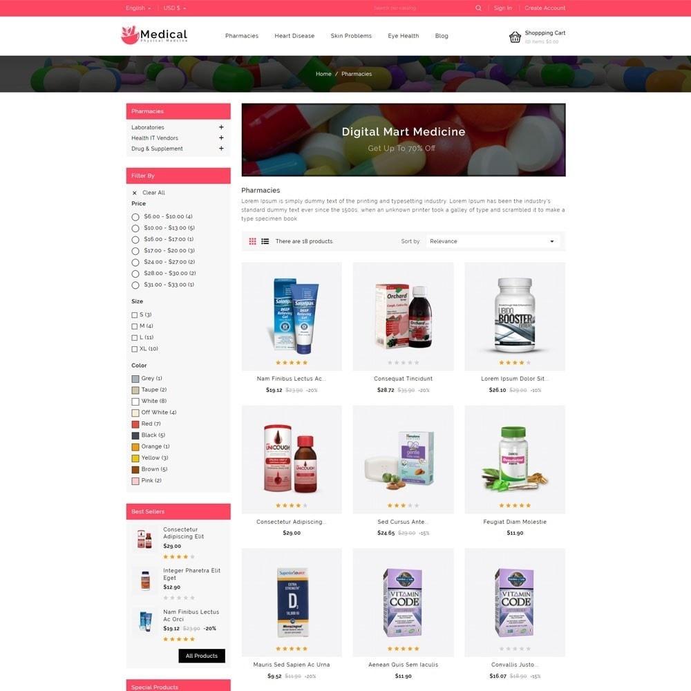 theme - Gesundheit & Schönheit - Medical Pharmacy Store - 3