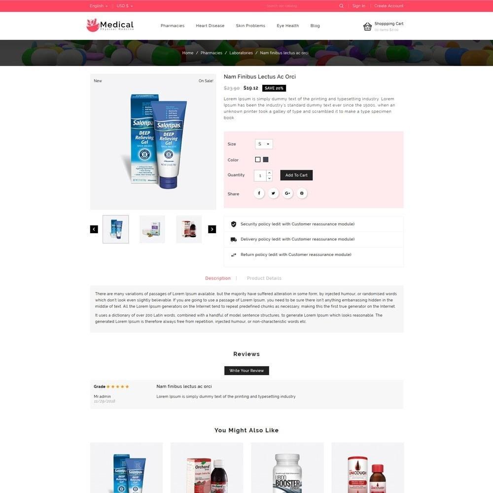 theme - Gesundheit & Schönheit - Medical Pharmacy Store - 4