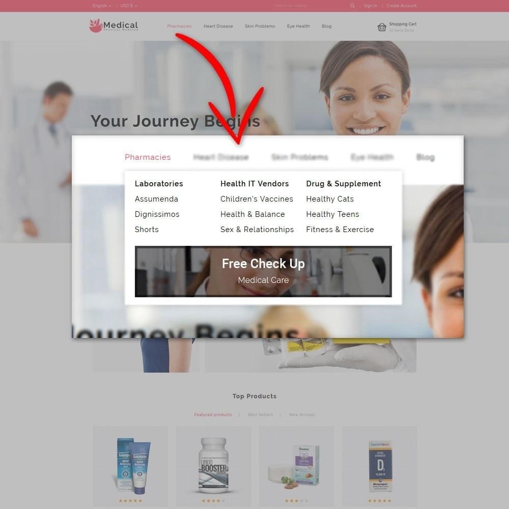 theme - Gesundheit & Schönheit - Medical Pharmacy Store - 8