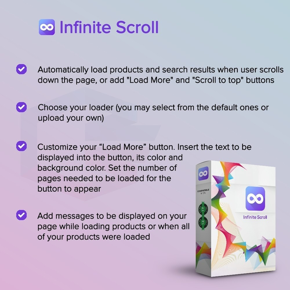 module - Инструменты навигации - Infinite scroll PRO - 1