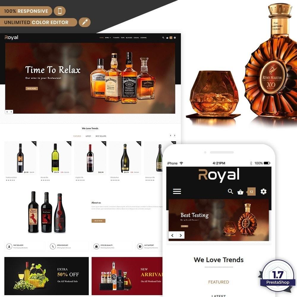 theme - Drink & Tobacco - Royal Alcohol–Wine International Store - 1