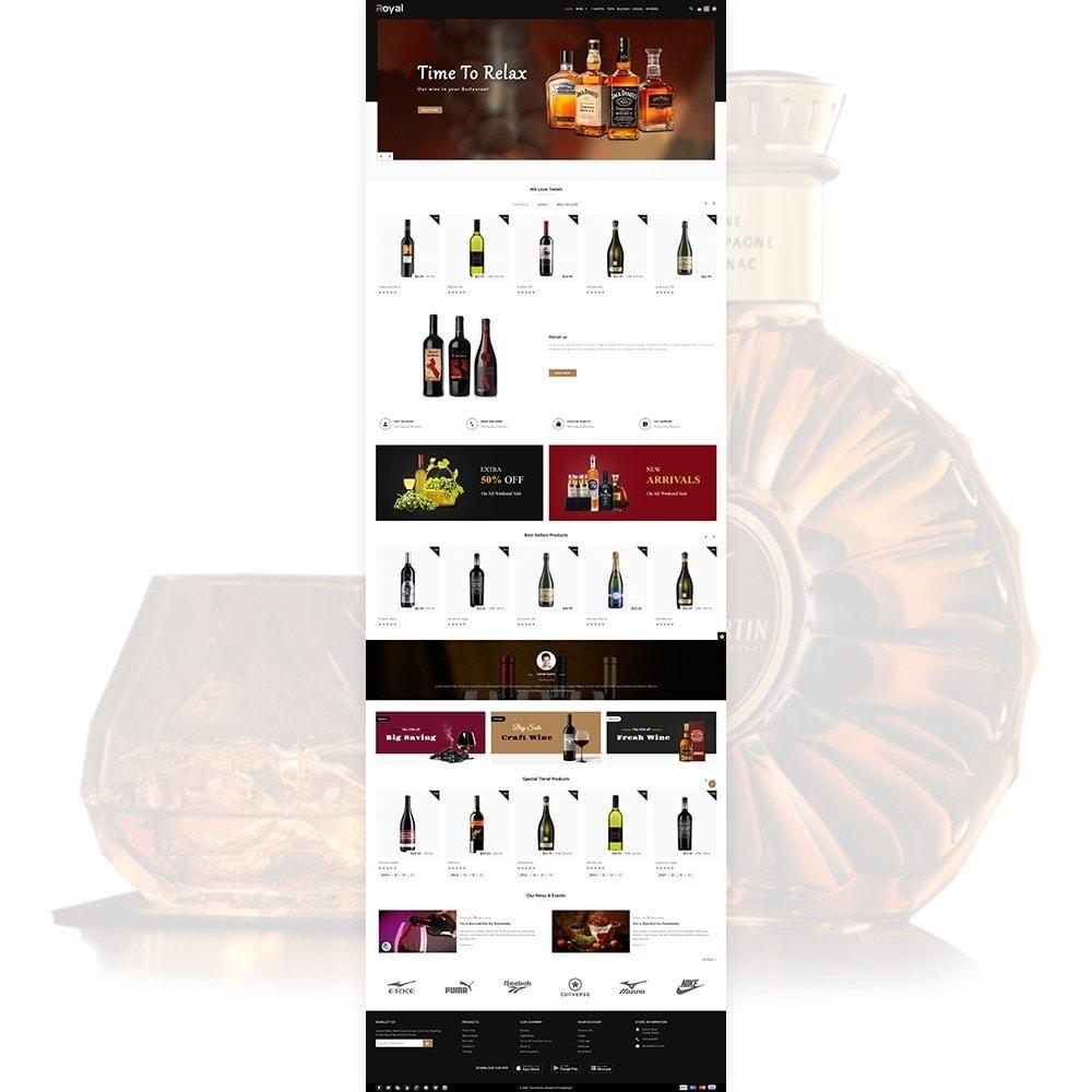 theme - Drink & Tobacco - Royal Alcohol–Wine International Store - 2