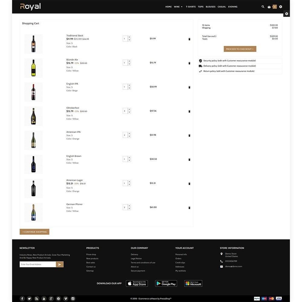theme - Drink & Tobacco - Royal Alcohol–Wine International Store - 4