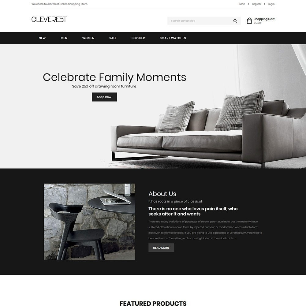 theme - Дом и сад - Cleverest - Furniture Store - 1