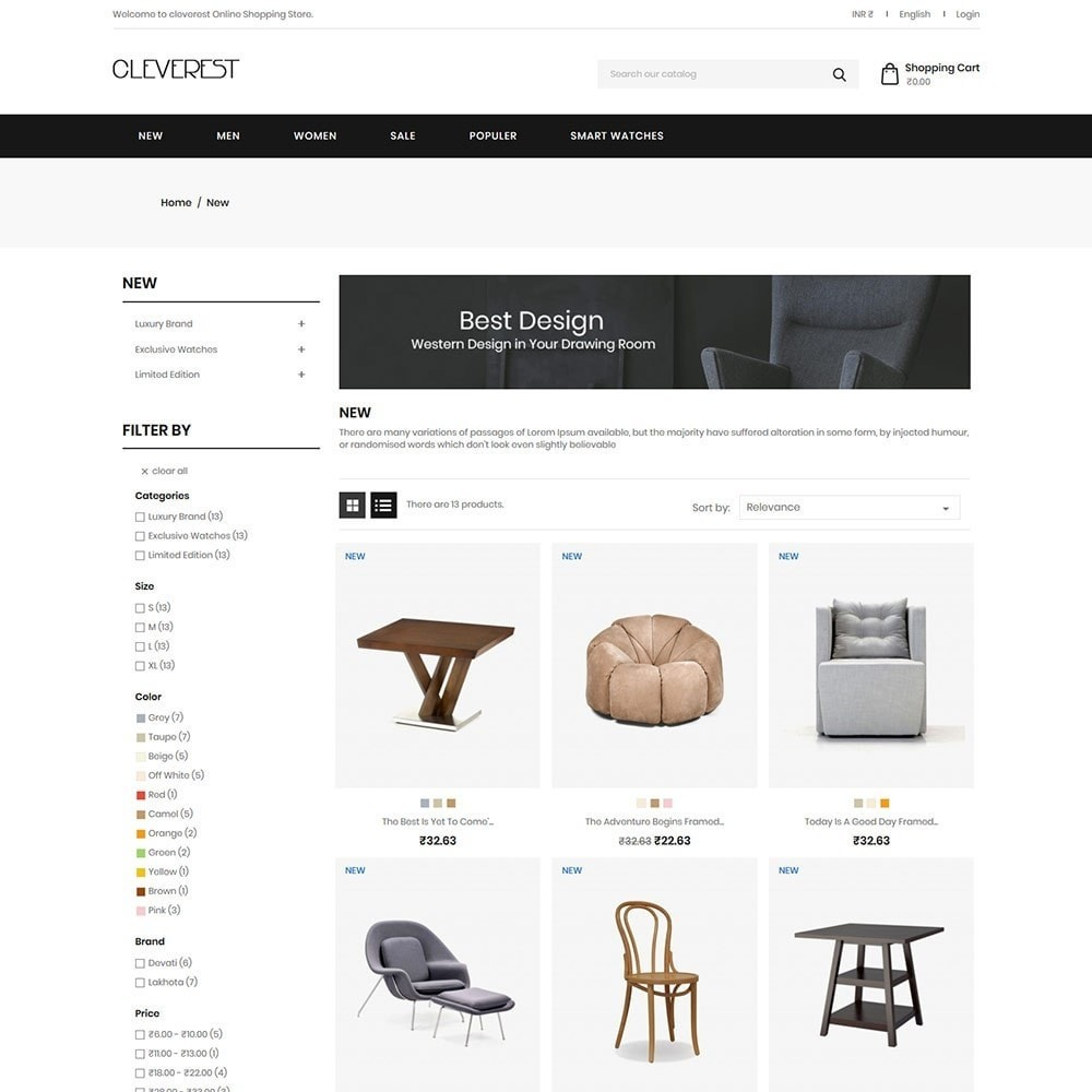 theme - Дом и сад - Cleverest - Furniture Store - 2