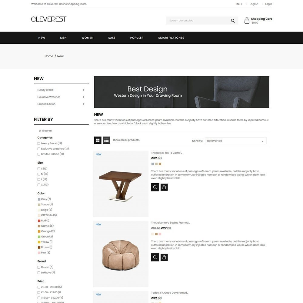 theme - Дом и сад - Cleverest - Furniture Store - 3