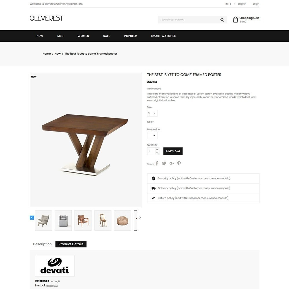 theme - Дом и сад - Cleverest - Furniture Store - 4