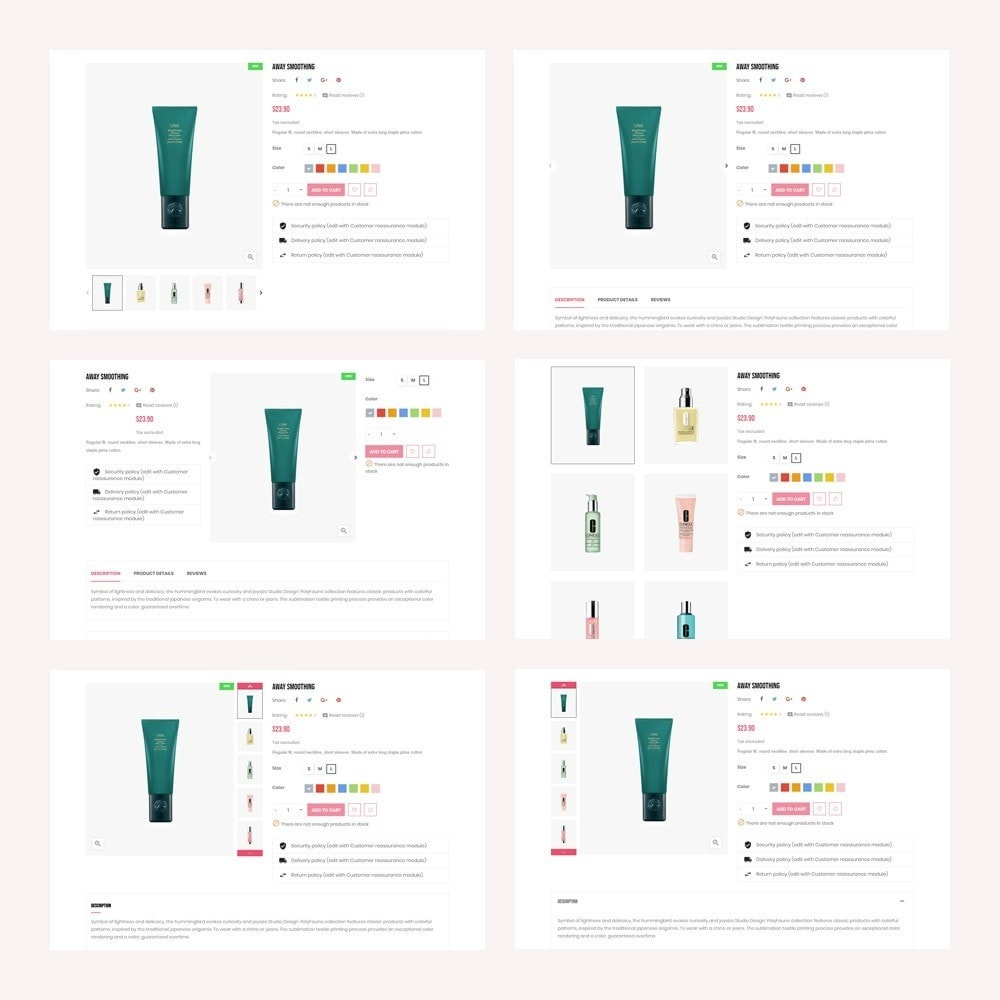 theme - Zdrowie & Uroda - Leo Arroma Cosmetics Store - 6