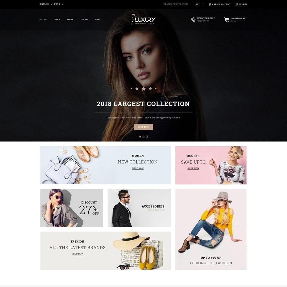 theme - Mode & Schoenen - Luxury Minimal Fashion Shop - 2