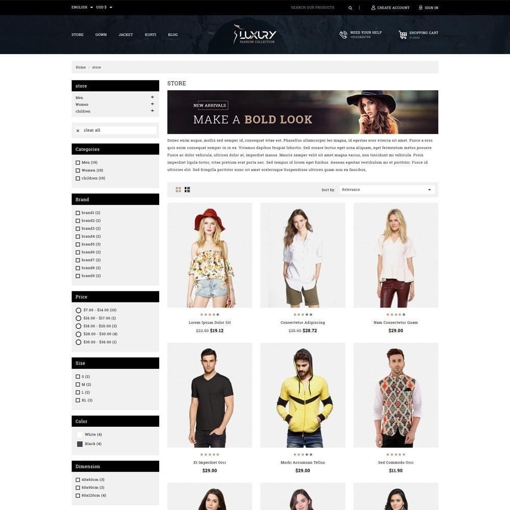 theme - Mode & Schoenen - Luxury Minimal Fashion Shop - 3