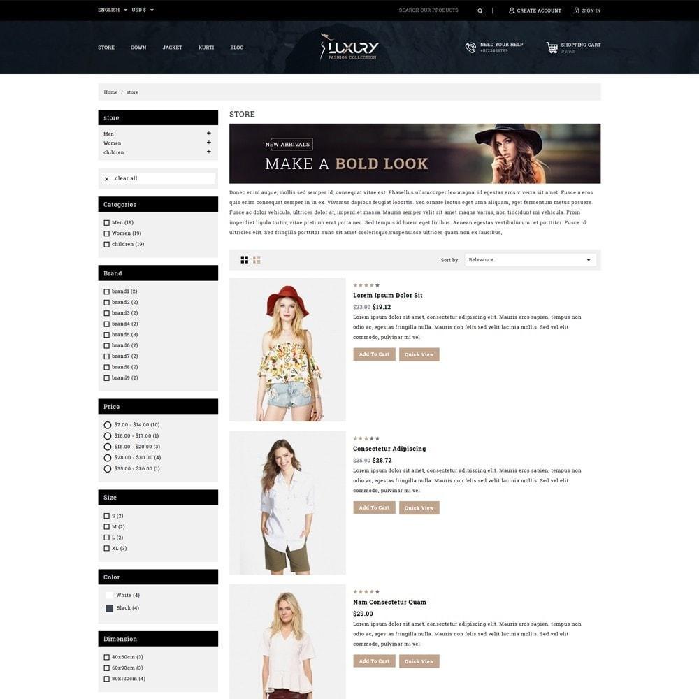 theme - Mode & Schoenen - Luxury Minimal Fashion Shop - 4