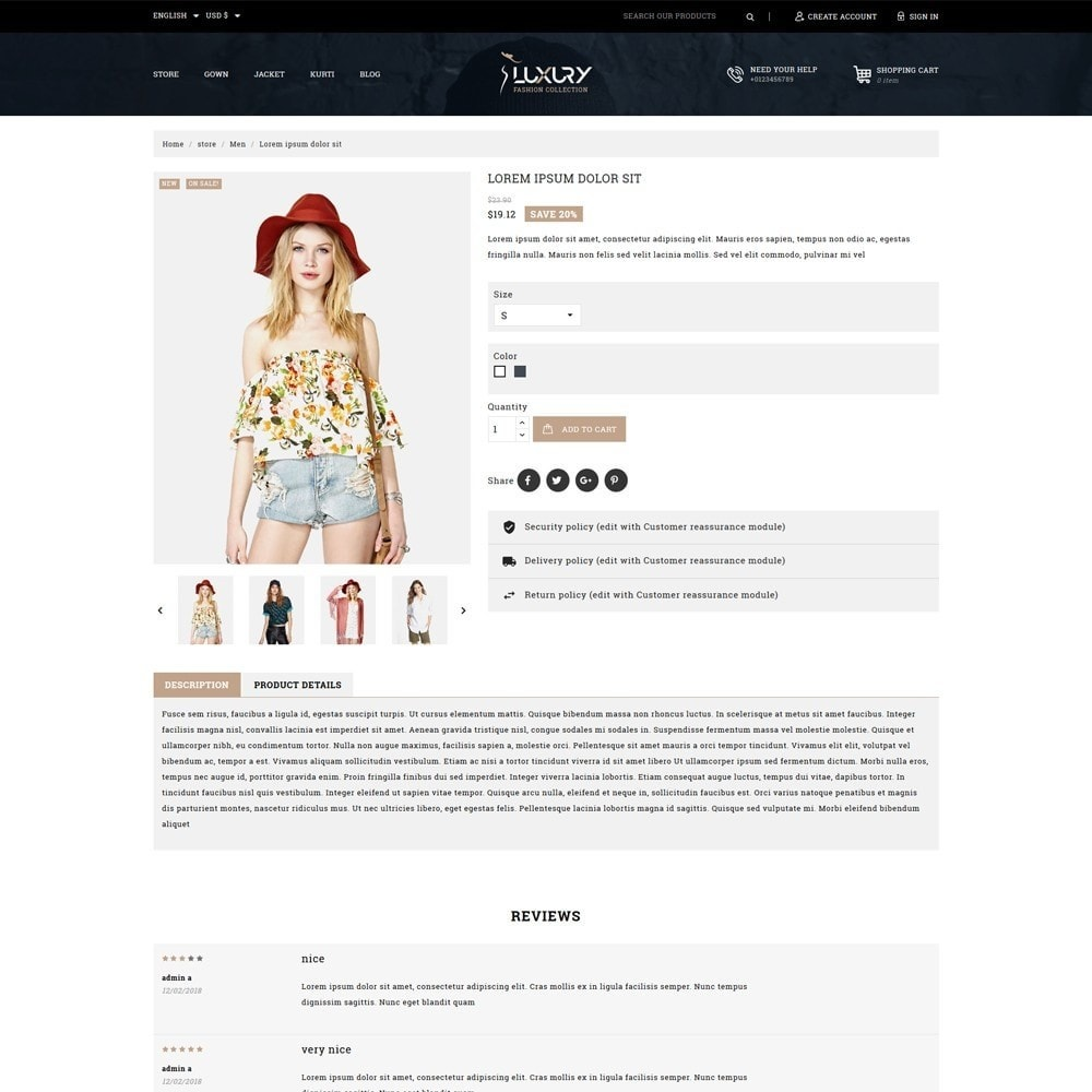 theme - Mode & Schoenen - Luxury Minimal Fashion Shop - 5