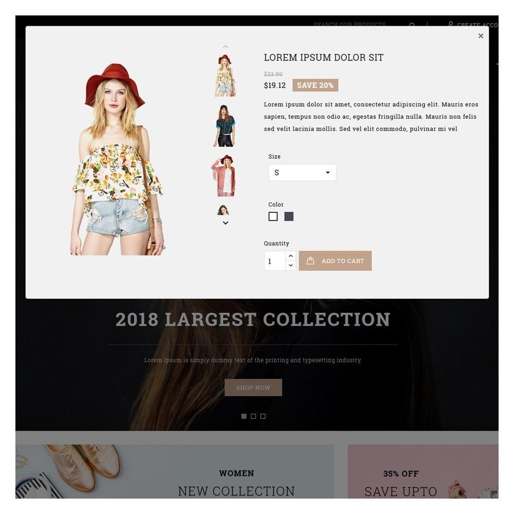 theme - Mode & Schoenen - Luxury Minimal Fashion Shop - 9