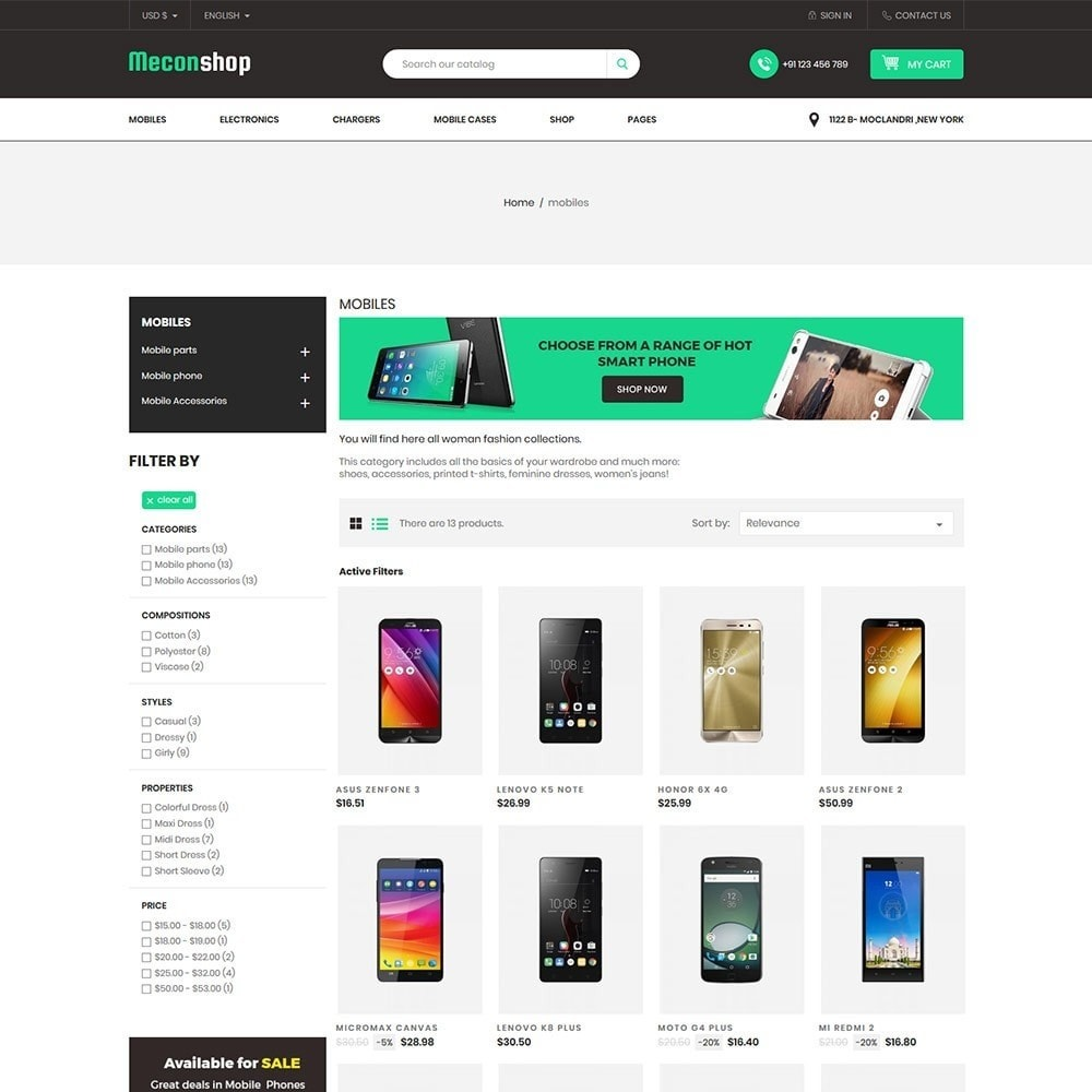 theme - Electronics & Computers - Mecon Mobile - Electronics Store - 3