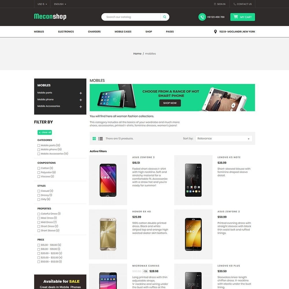 theme - Electronics & Computers - Mecon Mobile - Electronics Store - 4