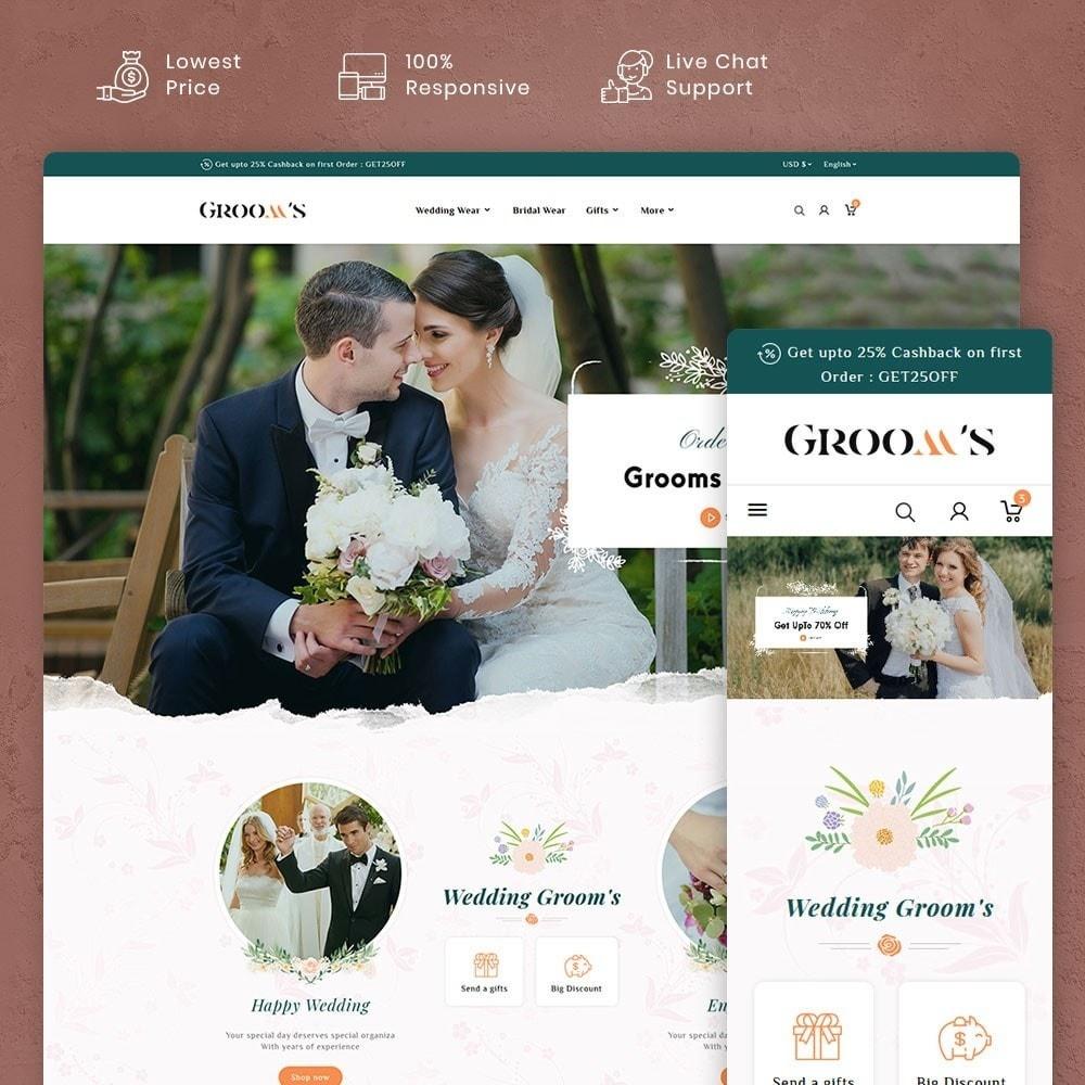 theme - Geschenke, Blumen & Feiern - Grooms Wedding & Celebration - 1