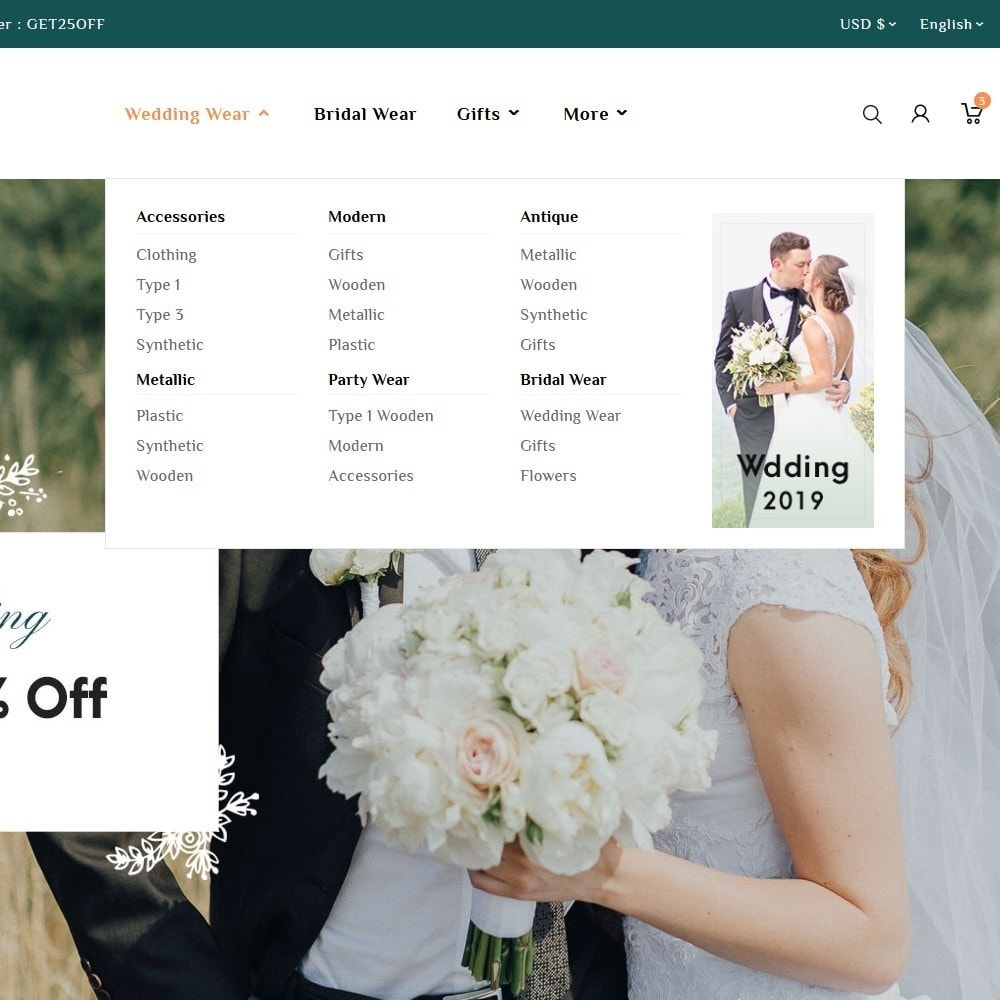 theme - Geschenke, Blumen & Feiern - Grooms Wedding & Celebration - 9