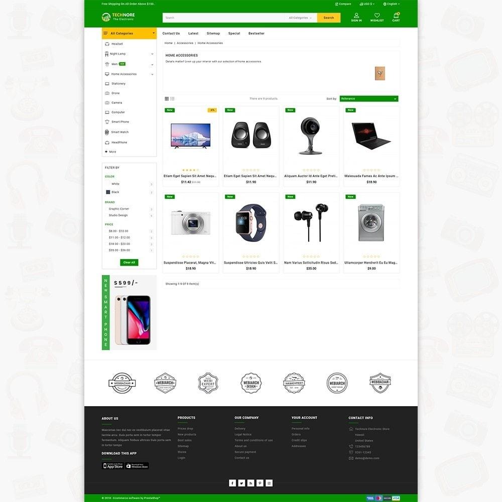 theme - Elektronika & High Tech - Technore - The Best Electronics Super Store - 3